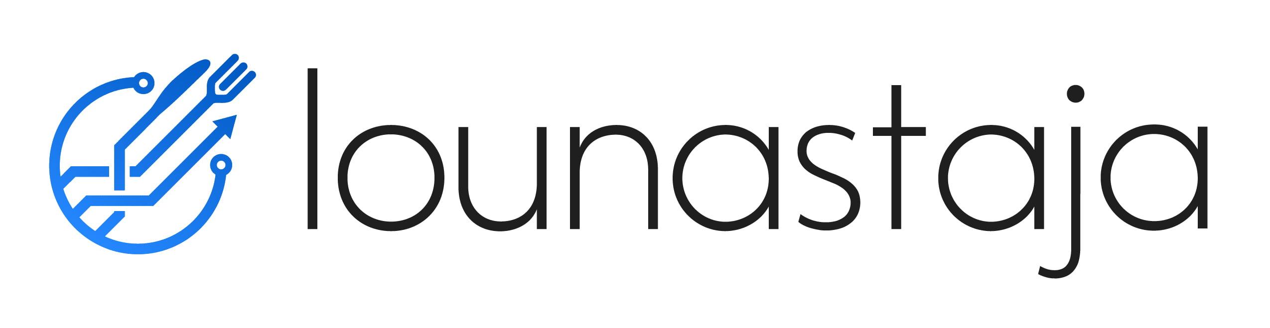 Lounastaja logo - sininen