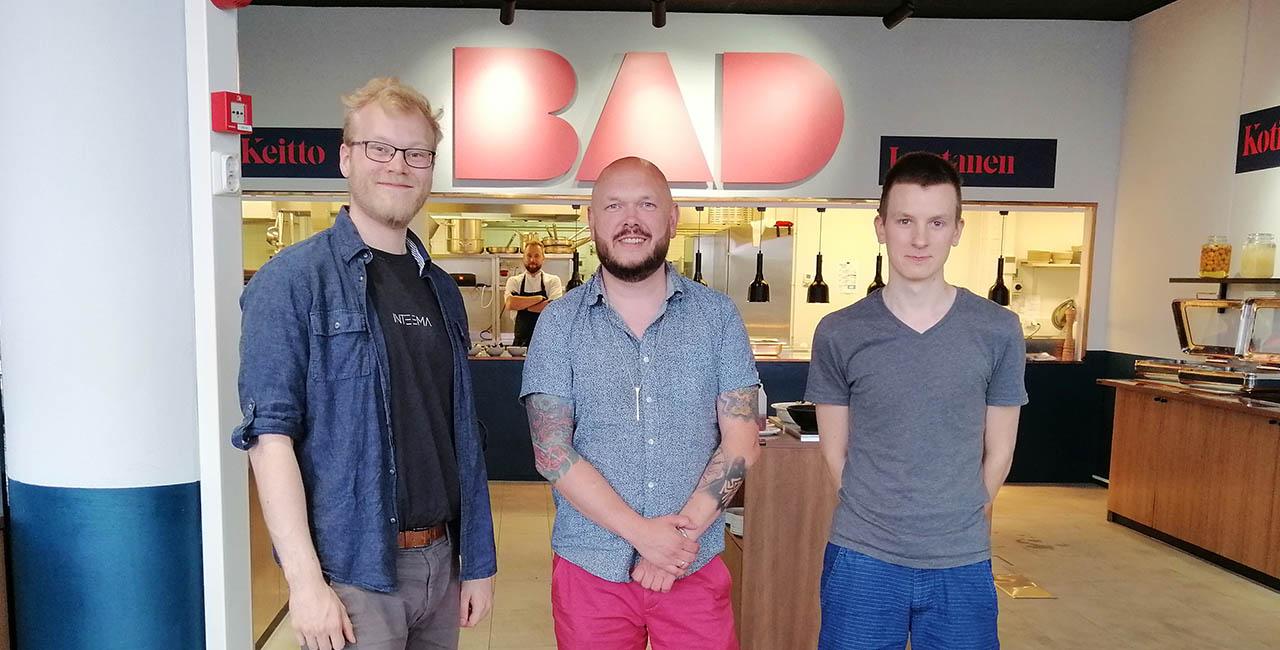 Matti Jamsen - Lounastaja - BAD Lintu 10 lounasravintola