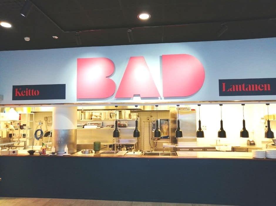 BAD-ravintolat - kuvia sisaltä