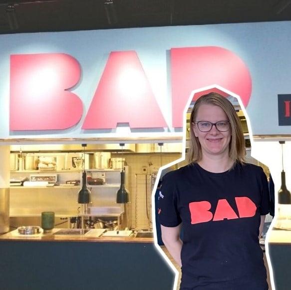 BAD-ravintola Charlotta Söderholm
